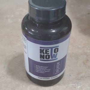 Keto now pills new sealed